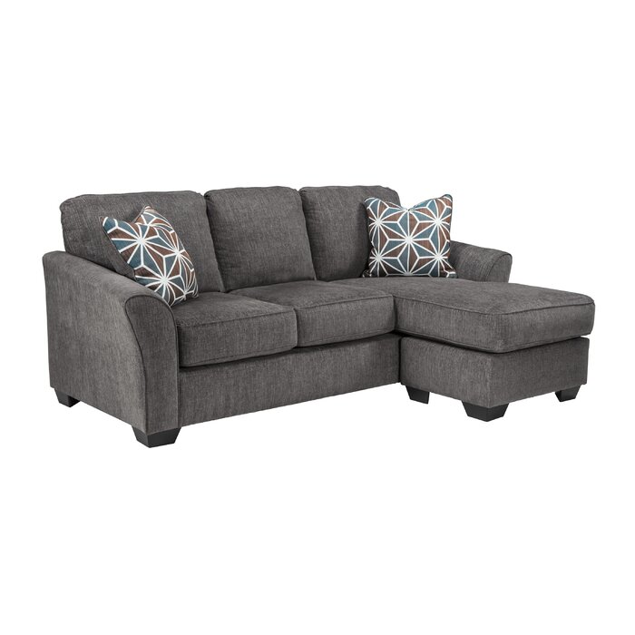 precedent orange in furniture palette silver pillows chaise velvet room sectional cole products parlor with