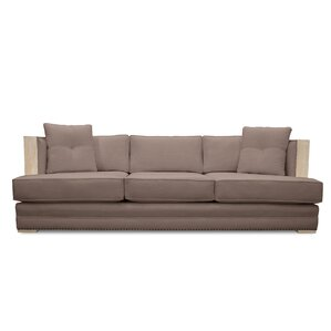 Marion Vintage Linen Sofa by South Cone Home
