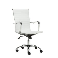 highback leather office executive chair - Leather Office Chairs