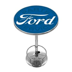 Ford Genuine Parts Pub Table by Trademark Global