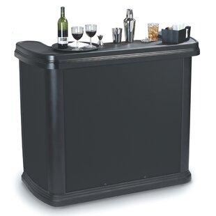 Superbe Portable Bar With Wheels | Wayfair