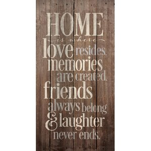Wood Wall Art Quotes inspirational wall art you'll love | wayfair