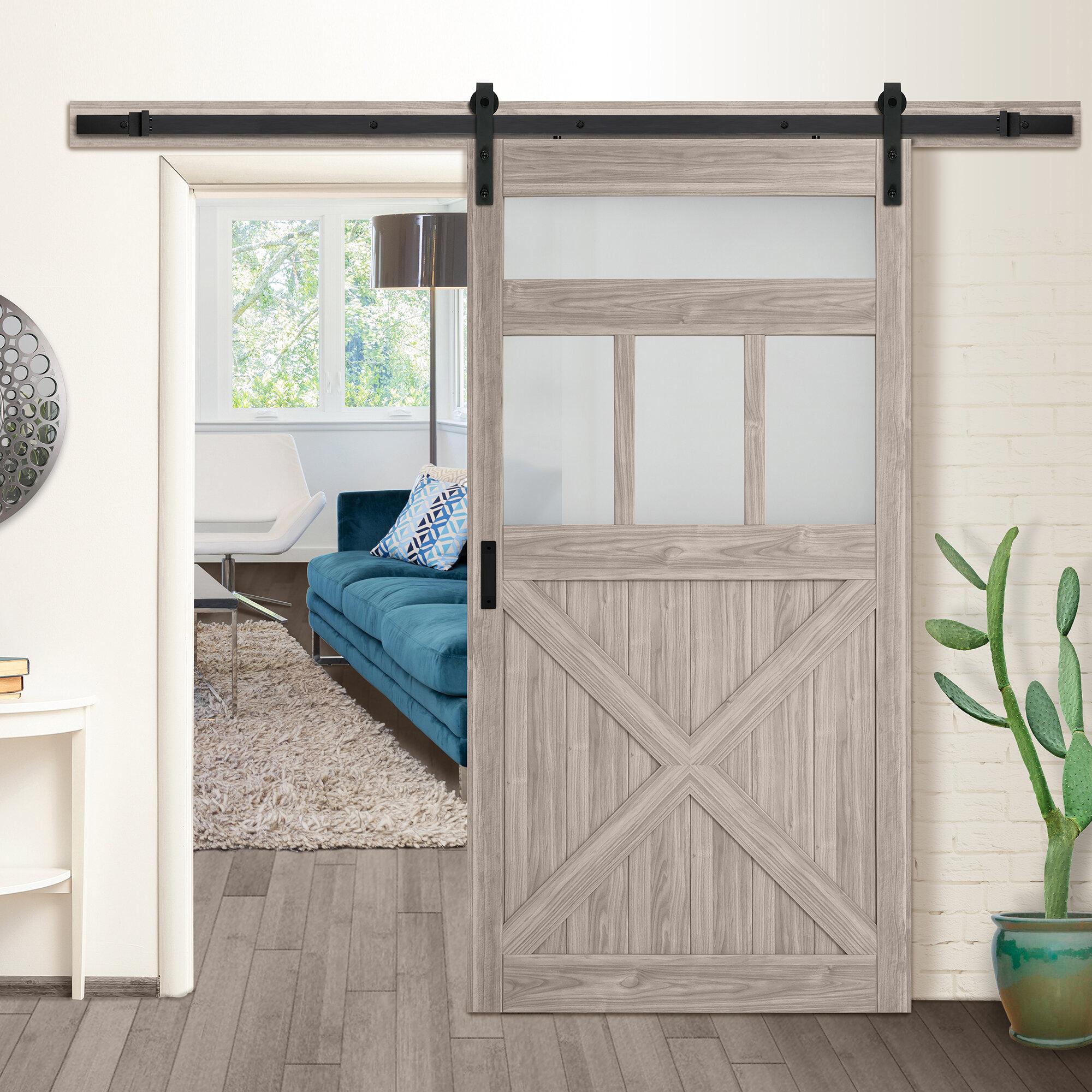 Erias Home Designs 42 X 84 Slidingtrack Manufactured Wood