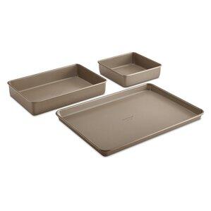 simply nonstick 3 piece bakeware set - Bakeware Sets