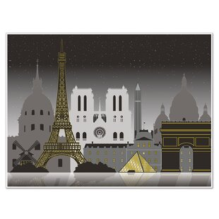 Paris Cityscape Wall Decor