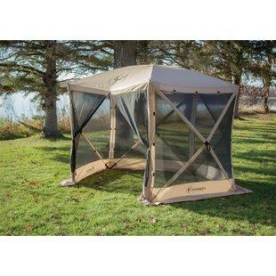 10 Ft. W x 9 Ft. D Fiberglass Pop-Up Gazebo  sc 1 st  Wayfair & Pop Up Screen Tent With Floor | Wayfair