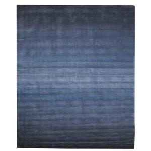 Darell Horizon Hand-Tufted Blue Area Rug
