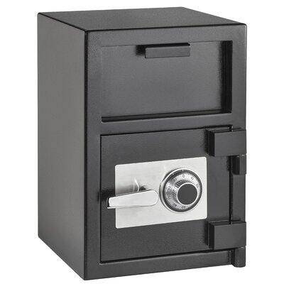 Hopper Loading Safe Box With Dial/Combination Lock
