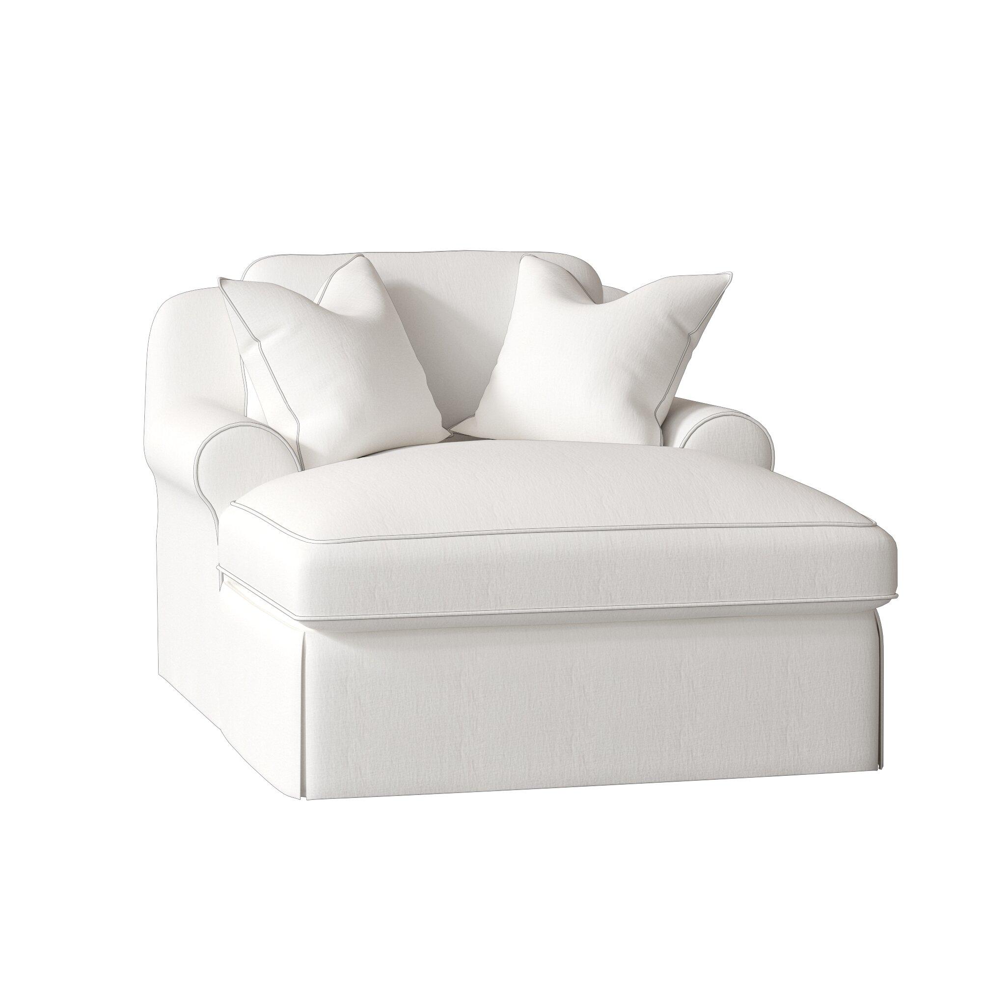 White Chaise Lounge Chairs Youu0027ll Love In 2019 | Wayfair