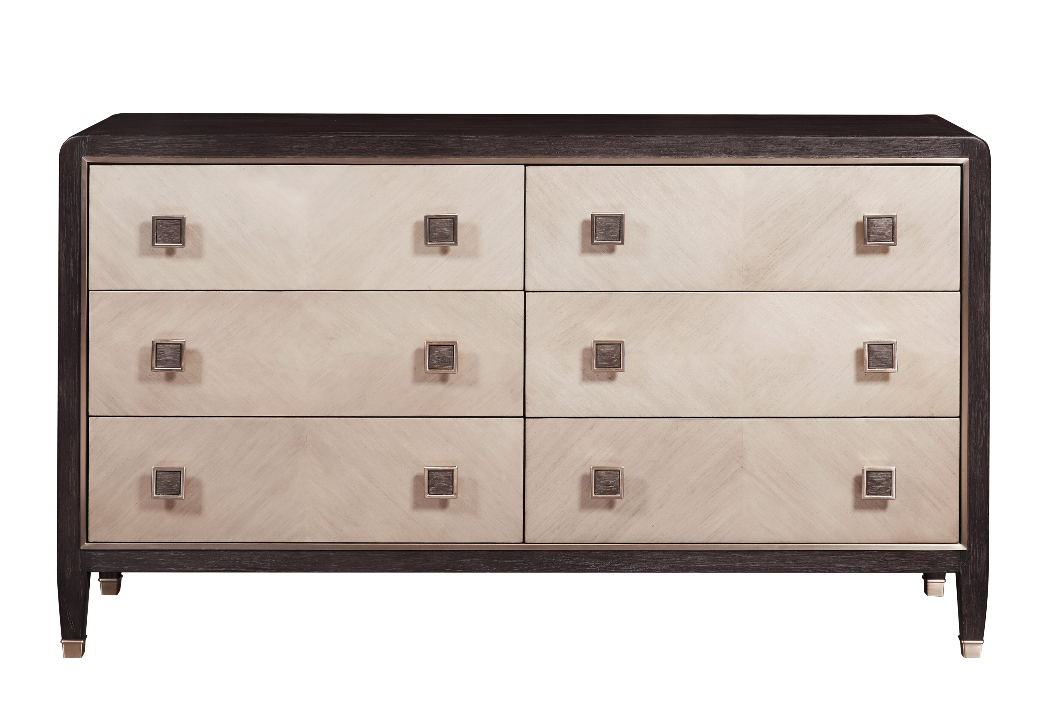 Brayden Studio Kincaid 6 Drawer Double Dresser Wayfair