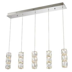 Alycia 5-Light LED Kitchen Island Pendant