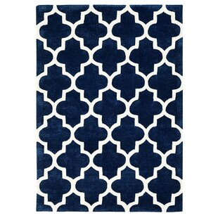 Oxon Hand-Tufted Blue Rug by Latitude Vive