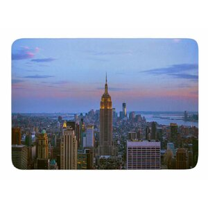 Empire State Of Mind by Juan Paolo Bath Mat