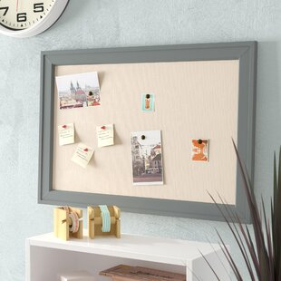Contemporary Wall Mounted Bulletin Board