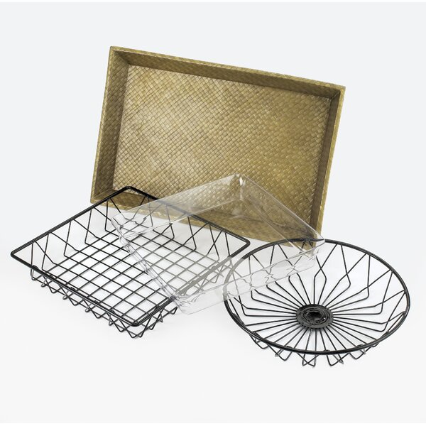Chicken Wire Tray | Wayfair