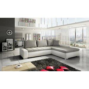 Ecksofa Ferrara mit Bettfunktion von Home & Haus
