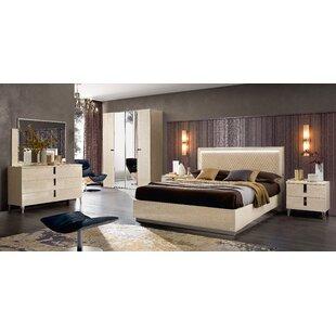 Zaffiro Night 4 Piece Bedroom Set
