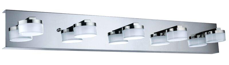 Yanira 5 Light Bath Bar