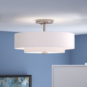 Joey 3-Light Semi-Flush Mount