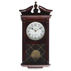 rectangular pendulum wall clock
