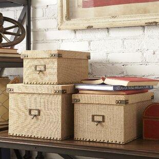 Cardboard Storage Box With Lid Wayfair