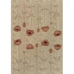 Rische Linen Poppy Area Rug