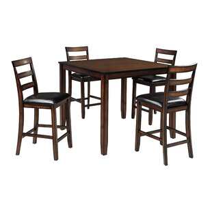 Carolina 5 Piece Counter Height Dining Set