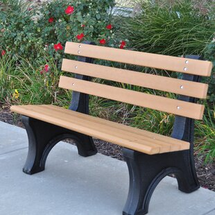 Recycled Plastic Park Bench Wayfair