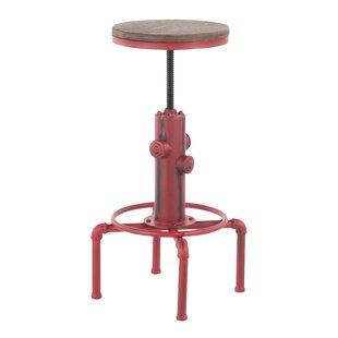 Carmona Adjustable Height Swivel Bar Stool