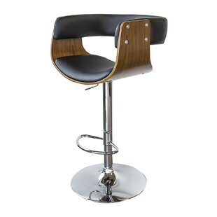 Vanwagenen Adjustable Height Swivel Bar Stool