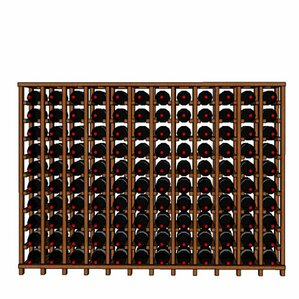 Premium Cellar Series 120 Bottle Floor Wine Rack by Wineracks.com