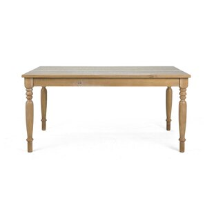Burntwood Dining Table