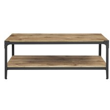 Cadencia Rustic Wood Coffee Table
