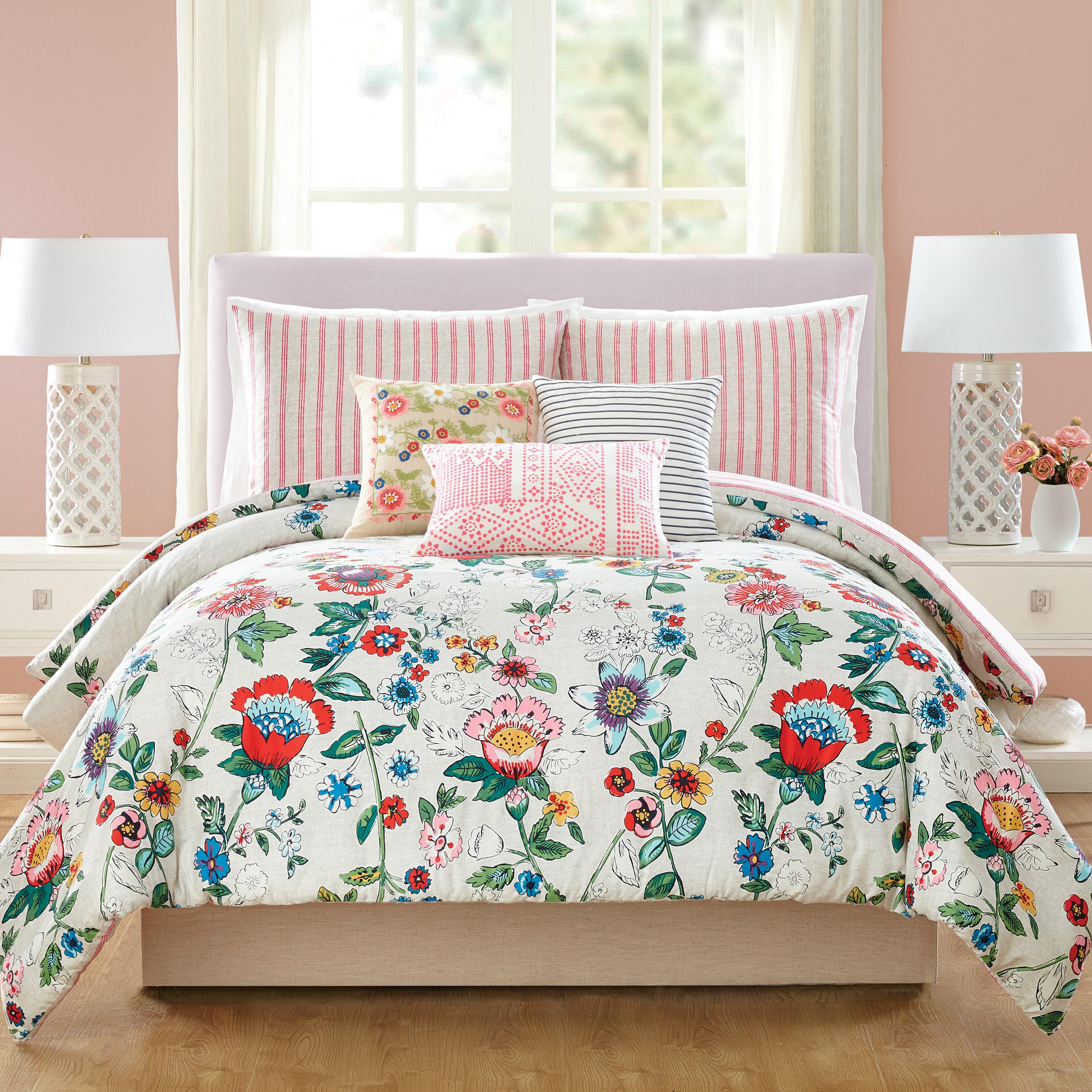 summer comforter for sets bedspread coral double mint bedding