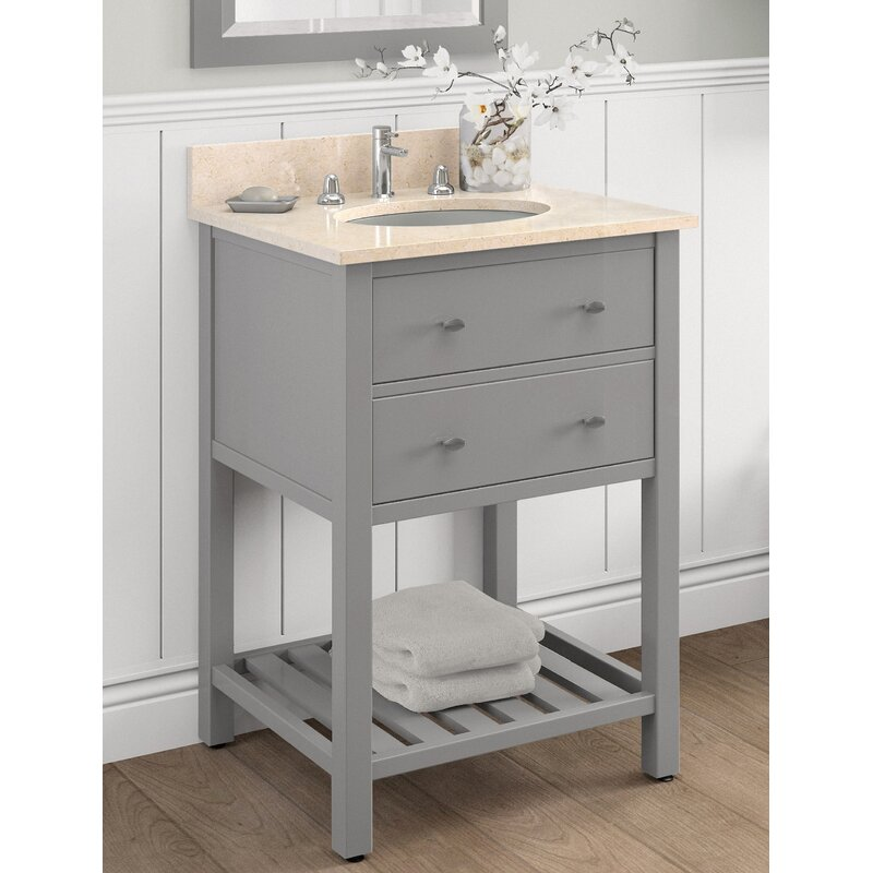 "alaterre harrison 25"" bath vanity 