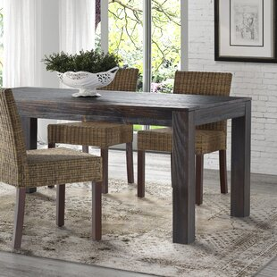 Rectangle Dining Room Table. Perfect Single Pedestal ...