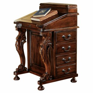 The Captain s Davenport Secretary Roll Top Desk 338980ca67