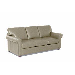 Rachel Leather Sofa by Wayfair Custom Upholstery?