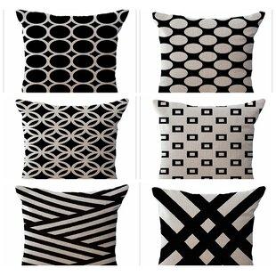 Oakdale 6 Piece Decorative Pillow Cover Set 737da195fcd