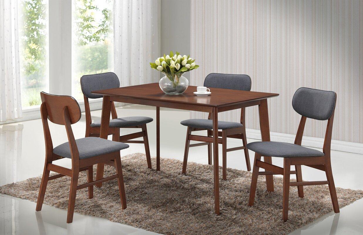 Roundhill Furniture Sacramento 5 Piece Dining Set & Reviews
