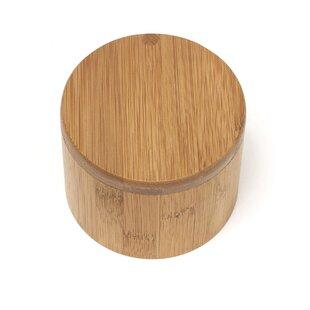 Merveilleux Bamboo Salt Box