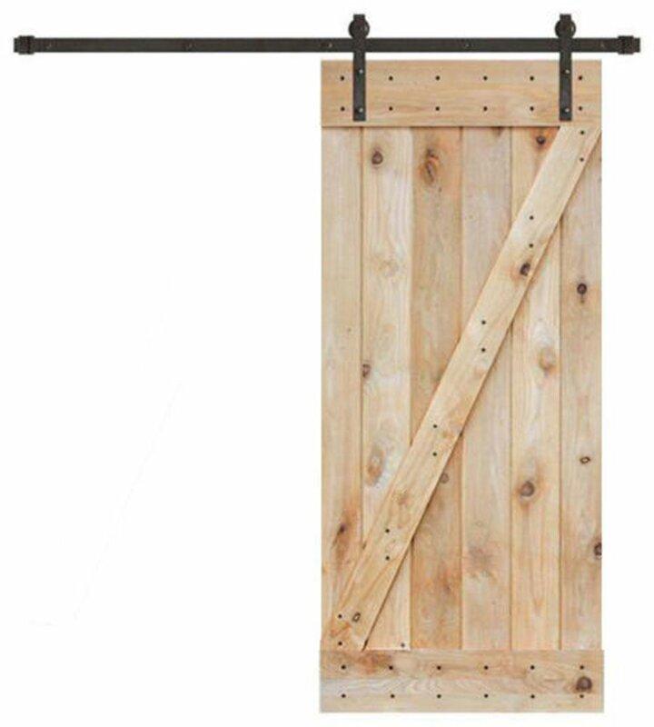 Wood Interior Barn Door