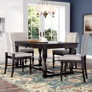Khalilah 5 Piece Dining Set (Set Of 5)