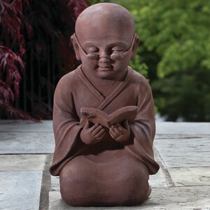 Reading Buddha Statue