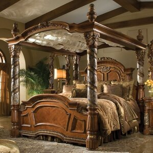 Gothic Canopy Bed Wayfair