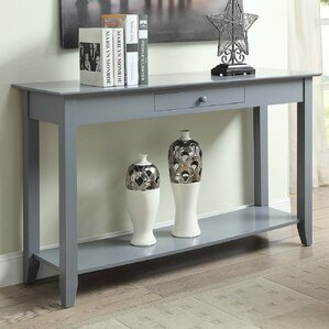 Grey Console Sofa Tables Youll Love Wayfair