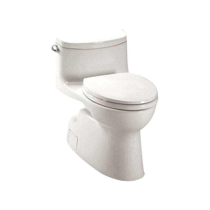 Carolina II High Efficiency 128 GPF Elongated One Piece Toilet