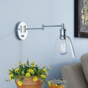 Southbury 1 Light Swing Arm Lamp