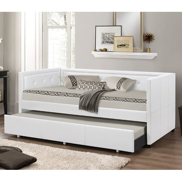 wholesale interiors baxton studio daybed with trundle u0026 reviews wayfair - Baxton Studio Bed