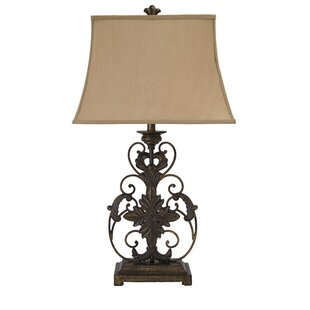 Attractive Wrought Iron Table Lamps | Wayfair
